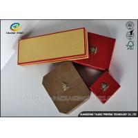 Quality Colorful Cover Jewelry Gift Boxes Recyclable Friendly Plastic Embossing Printing Handling for sale