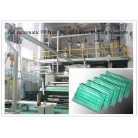Quality Full automatic PP Non Woven Fabric Making Machine 0 - 300m/min High Speed for sale