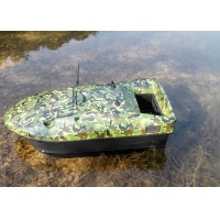 Quality Remote control fish boat Camouflage battery power and ABS plastic for sale