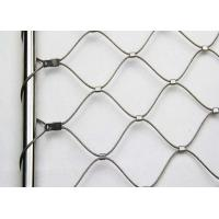Quality Flexible Ferrule Wire Rope Mesh Animal Enclosures Netting Isolate Fence Zoo Mesh for sale
