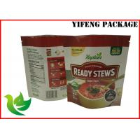 Best Laminated Material 1kg Standing Up Pouch For Relish wholesale