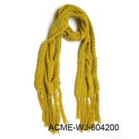 Quality Fashion Handmade Knitting Scarf for sale