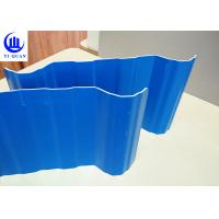 Quality Light Weight PVC Roof Tiles Shining Color for Commercial Parking Lots for sale