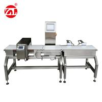 Quality Automatic Alarm Light Combined Convey Belt Food Metal Detector Checkweigher for sale