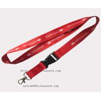 Best Fast Delivery Red Color Decorative Lanyards wholesale