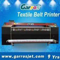 Best Cotton Canvas Printing Machine High Quality Textile Belt Printer 1.8m with Dual DX5 Heads wholesale