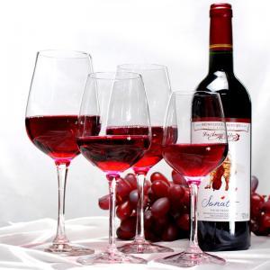 Big Capacity Transparent  Plastic Wine Glasses