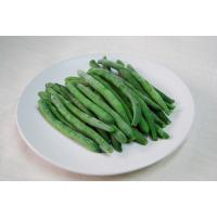 China Delicious New Crop IQF Freezing Fresh Beans , Grade A Whole Frozen Green Beans on sale