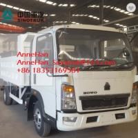 China Euro3 Mid Liftting SINOTRUK Howo7 Light Duty Trucks LHD 4x2 116HP 5-7T Load on sale