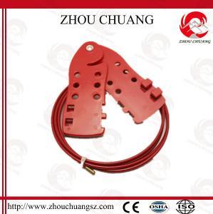 China ZC-L21 Universal Versatile Economy Cable Lockout Fish Lockout on sale