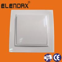 Quality Elendax Electrical White ABS Flush  wall mounted switch for sale