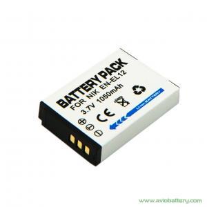 Quality Camera Battery EN-EL12 for Nikon CoolPix S710 for sale