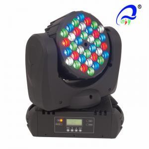China Tri - Color DMX 512 LED Wash Moving Head Lamp , Indoor Beam Led Stage Wash Lights on sale