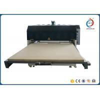 Best Hydraulic Dual Station Fabric Flatbed  Automatic Heat Press Machine Low Noise wholesale