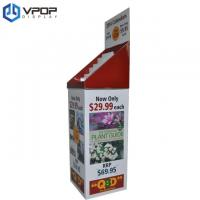 China Portable Cardboard Floor Display Stands 54 * 40 * 168 cm For Calendars / Books on sale