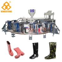 Quality 12 Stations 1/2 color Boot Injection Molding Machine, Gumboots Making Machine for sale