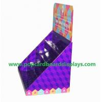 China Greeting cards cardboard counter display portable store display box display case on sale