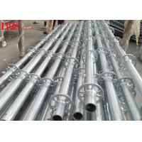 Quality 48.3mm Tube Layher Scaffolding System Galvanized For Concrete Construction for sale
