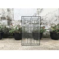 China Shower Room Decorative Panel Glass 08*36 Black  Patina Bevel Thickness 16-30 Mm on sale