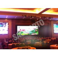 China Hire High Resolution Indoor Advertising LED Display Video Wall 17222 Dots / ㎡ Programmable on sale