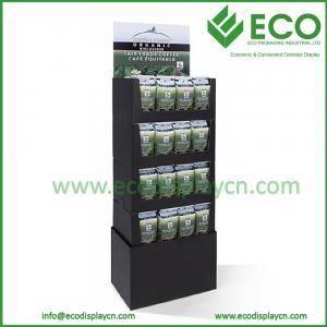 China CMYK Printing Cardboard Stand Display for Bag Display Stand on sale