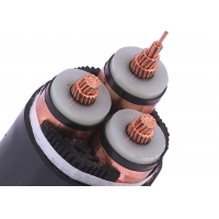 Quality 3 Core 12.7/22KV 3x185SQMM  Unarmored Underground PVC XLPE Cable for sale