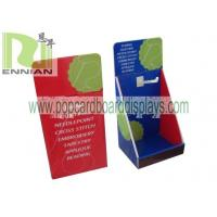 Best Cardboard Counter Displays With Hooks Corrugated Point Of Purchase Displays ENCD077 wholesale