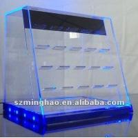 China Acrylic LED Store Tabacco Display on sale