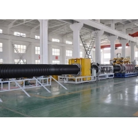 China 106mm HDPE Anti Erosion Corrugated Pipe Extruder for sale