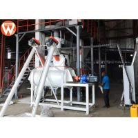 China 1.5 - 2.5 T/H Animal Farm Poultry Feed Plant Machinery 50kw High Efficiency for sale