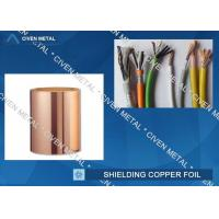 Quality Roll Size ED Copper Foil For Shielding, Made Of Red Copper for sale