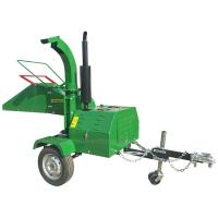 Quality 8 Inches Chipping Capacity Trailed Wood Chipper With Changchai Diesel Engine for sale