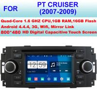 Quality 2007 - 2009 Chrysler DVD Player , Dual Zone Car DVD Player Auto Radio Multimedia GPS for sale