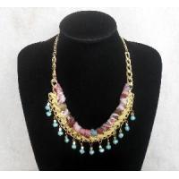 Quality 2012 New Design Hand-Knitted Cloth Necklace for sale