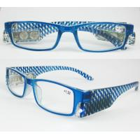 China Blue Frame LED Lighted Reading Glasses 1.50 BP4466 on sale