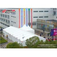 Quality White PVC Cover 15x30m Wedding Marquee Tent For Hire Heavy Wind Resistance for sale