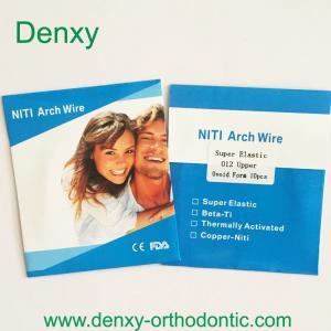 China Denxy Orthodontic wire Orthodontic niti arch wire Orthodontic stainless steel archwire on sale