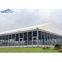 China Sound Proof Luxury Garden Wedding Marquee With Glass Wall For Conference , Exhibition on sale