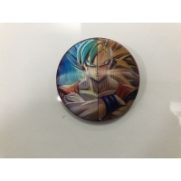 Quality 5.8*5.8cm PET 3D Lenticular Anime Button Badge For Bag for sale