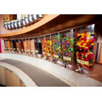 Best Wall Mounted Perspex / Acrylic Candy Dispenser , Free Design Provided wholesale