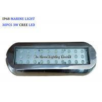Quality 12VDC Rectangle Boat Lights RGB Blue Marine Navigation Light for Marine Lighting for sale
