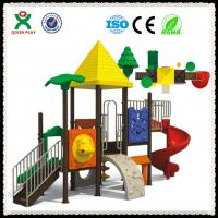 Quality Outdoor Playsets School Playground Slides for Sale QX-054C for sale