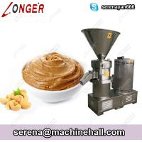 Quality Commercial Cashew Pistachio Butter Grinding Making Machine Stainless Steel for sale