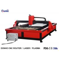 Quality Red Color Plasma Metal Cutting Machine with 2000 mm x 3000 mm Working Size for sale