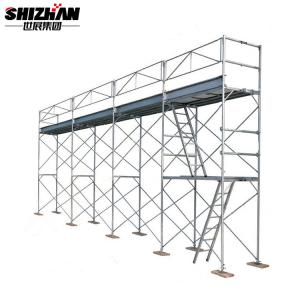 Quality H Frame Aluminium Mobile Scaffolding Tower Easy Install 6m 7m 8m 10m 12m Movable for sale
