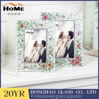 Quality Wear Resistance Classic Glass Wedding Photo Frames 180*230*15MM for sale