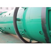 China Carbon Steel Rotary Drum Granulator With Wet Moisture For Compound Fertilizer for sale