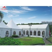 Quality Flame Retardant DIN4102 B1 10M Outdoor Event Tent With PVC Roof Cover for sale