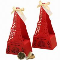 Buy cheap Iron Tower Paper Confection Box from wholesalers