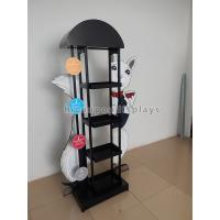 Quality Eyecatching Wine Display Rack Metal Grape Wine Commercial Wine Floor Standing Rack for sale